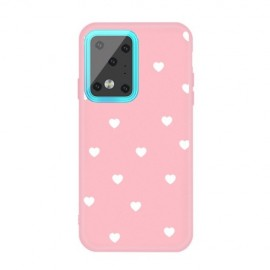 Hartjes TPU Samsung Galaxy S20 Ultra Hoesje - Pink