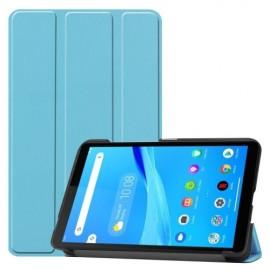 Tri-Fold Book Case Lenovo Tab M7 Hoesje - Lichtblauw