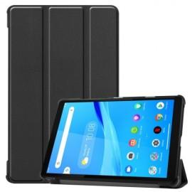 Tri-Fold Book Case Lenovo Tab M8 Hoesje - Zwart