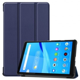 Tri-Fold Book Case Lenovo Tab M8 Hoesje - Donkerblauw
