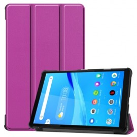 Tri-Fold Book Case Lenovo Tab M8 Hoesje - Paars