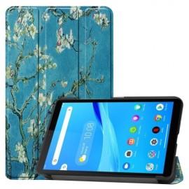Tri-Fold Book Case Lenovo Tab M7 Hoesje - Bloesem