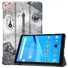 Tri-Fold Book Case Lenovo Tab M8 Hoesje - Eiffeltoren