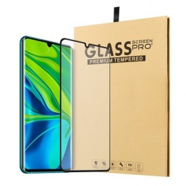 Full-Cover Tempered Glass Xiaomi Mi Note 10 - Zwart