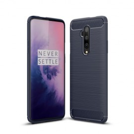 Armor Brushed TPU OnePlus 7T Pro Hoesje - Blauw