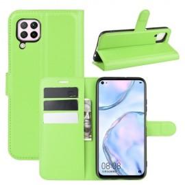 Book Case Huawei P40 Lite Hoesje - Groen
