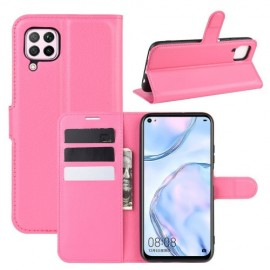 Book Case Huawei P40 Lite Hoesje - Roze