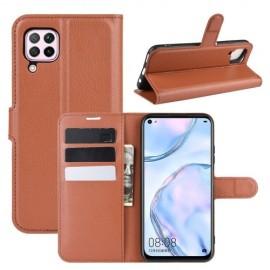 Book Case Huawei P40 Lite Hoesje - Bruin