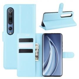 Book Case Xiaomi Mi 10 (Pro) Hoesje - Lichtblauw