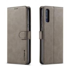 Luxe Book Case Samsung Galaxy A50 / A30s Hoesje - Grijs