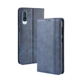 Vintage Book Case Samsung Galaxy A50 / A30s Hoesje - Blauw