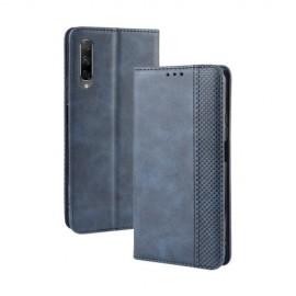 Vintage Book Case Huawei P Smart Pro Hoesje - Blauw