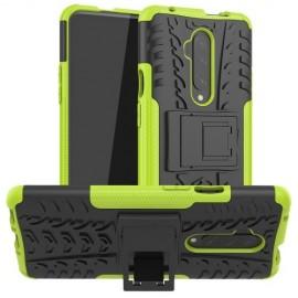 Rugged Kickstand OnePlus 7T Pro Hoesje - Groen
