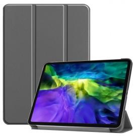 Tri-Fold Book Case iPad Pro 11 (2020/2021) Hoesje - Grijs