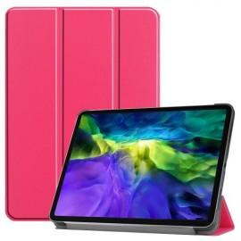 Tri-Fold Book Case iPad Pro 11 (2020/2021) Hoesje - Roze
