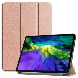 Tri-Fold Book Case iPad Pro 11 (2020) Hoesje - Rose Gold