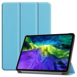 Tri-Fold Book Case iPad Pro 11 (2020/2021) Hoesje - Lichtblauw