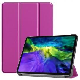 Tri-Fold Book Case iPad Pro 11 (2020/2021) Hoesje - Paars