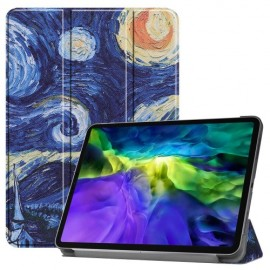 Tri-Fold Book Case iPad Pro 11 (2020) Hoesje - Sterrennacht