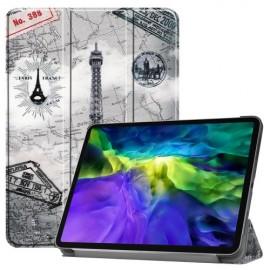 Tri-Fold Book Case iPad Pro 11 (2020/2021) Hoesje - Eiffeltoren