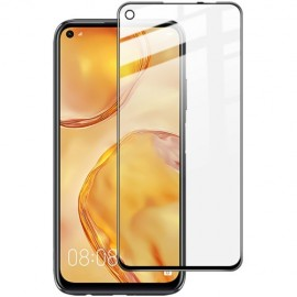 Full-Cover Tempered Glass Huawei P40 Lite - Zwart
