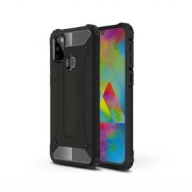 Armor Hybrid Samsung Galaxy M21 Hoesje - Zwart