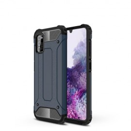 Armor Hybrid Samsung Galaxy A41 Hoesje - Donkerblauw