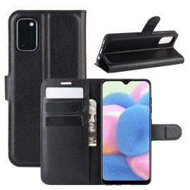 Book Case Samsung Galaxy A41 Hoesje - Zwart