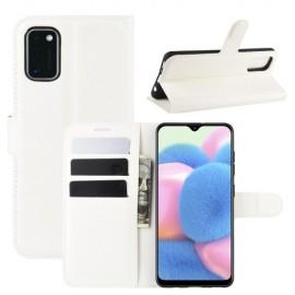 Book Case Samsung Galaxy A41 Hoesje - Wit
