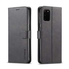 Luxe Book Case Samsung Galaxy A41 Hoesje - Zwart