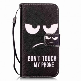 Book Case iPhone SE (2020) / 8 / 7 Hoesje - Don't Touch