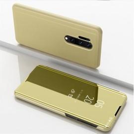 Mirror View Case OnePlus 8 Pro Hoesje - Goud