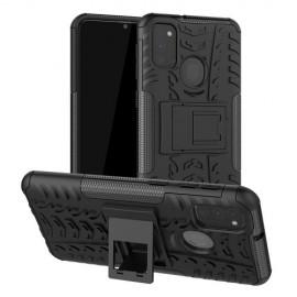 Rugged Kickstand Samsung Galaxy M21 Hoesje - Zwart