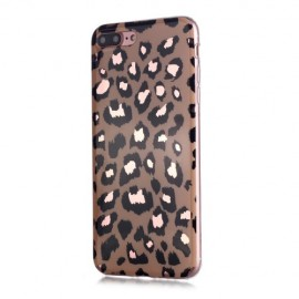 Luipaard TPU iPhone 8 Plus / 7 Plus Hoesje