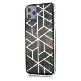 Marble Design TPU iPhone 11 Pro Max Hoesje - Emerald Green
