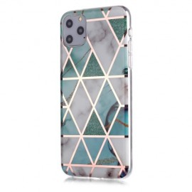 Marble Design TPU iPhone 11 Pro Max Hoesje - Mint