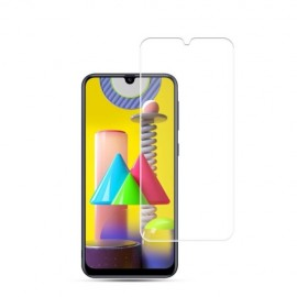 Full-Cover Tempered Glass Galaxy M21 - Zwart